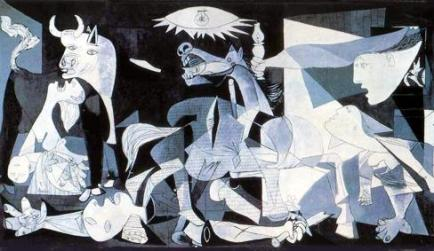 Guernica - the iconic anti war canvass by Picaso